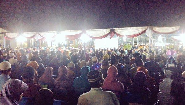 Jamaah Muhammadiyah membludak di Pembukaan MusywilDIY 2015