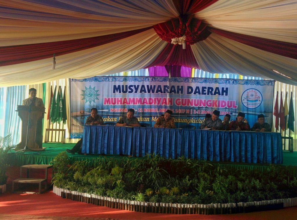 Suasana Musyda Muhammadiyah Hari Pertama di Nglipar