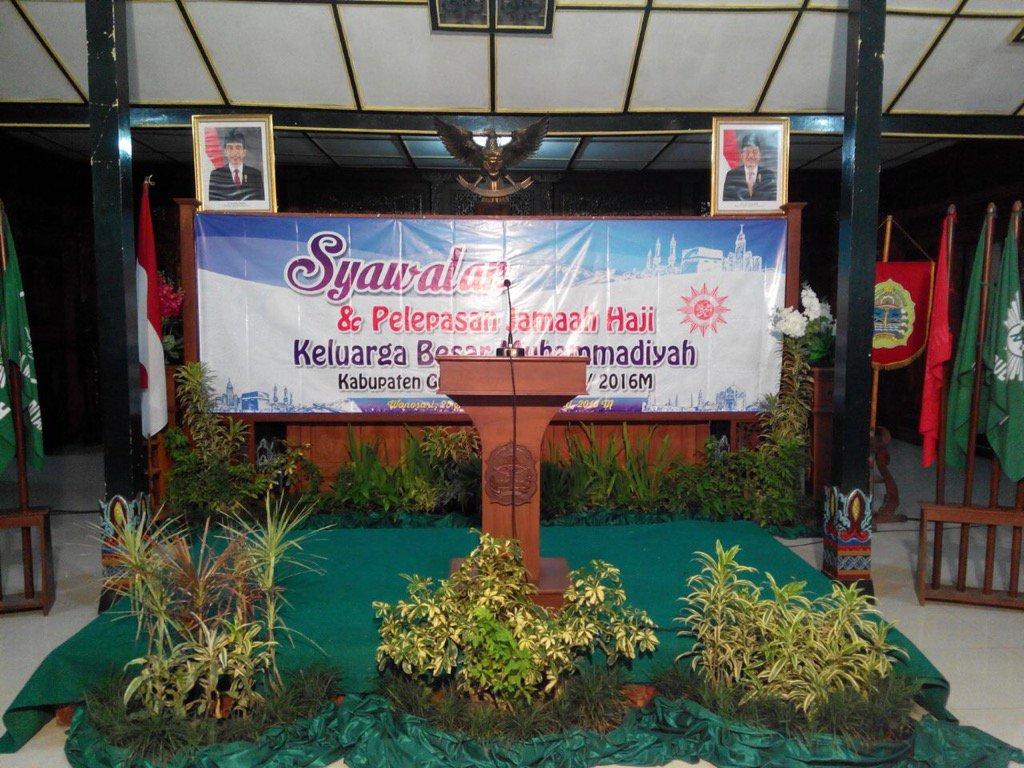 Syawalan dan Pelepasan Jama'ah Haji Muhammadiyah 1437H