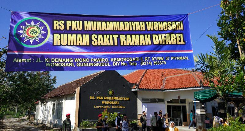 RS PKU Muhammadiyah Wonosari Ramah Difabel