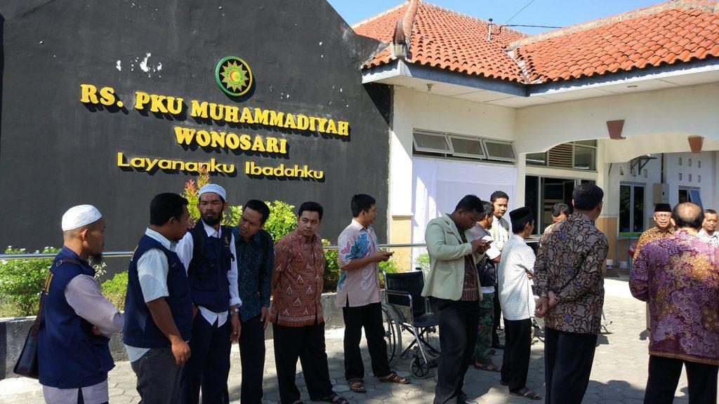 Suasana Lauching RS. PKU Muhammadiyah Ramah Difabel