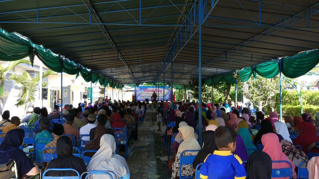Suasana Launching Ramah Difabel PKU Muhammadiyah Wonosari