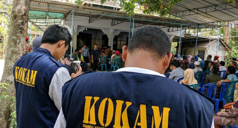 Anggota KOKAM Takziah Almarhum Kang Momo