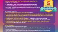 Kontes Vidgram Dakwah 2018 Muhammadiyah Gunungkidul