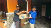 MDMC Gunungkidul menyerahkan Bantuan di Purwosari