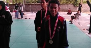 Muhammad Usamah Nashiruddin dari MA Al Hikmah Karangmojo Juara OSN Silat 2019 Gunungkidul