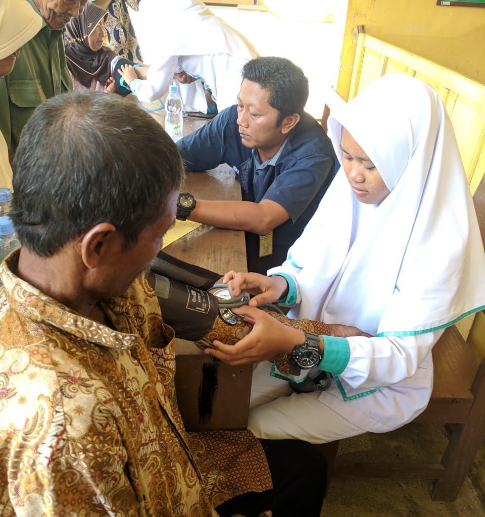 PKU Muhammadiyah & MDMC Gunungkidul Asessment Korban Banjir Purwosari