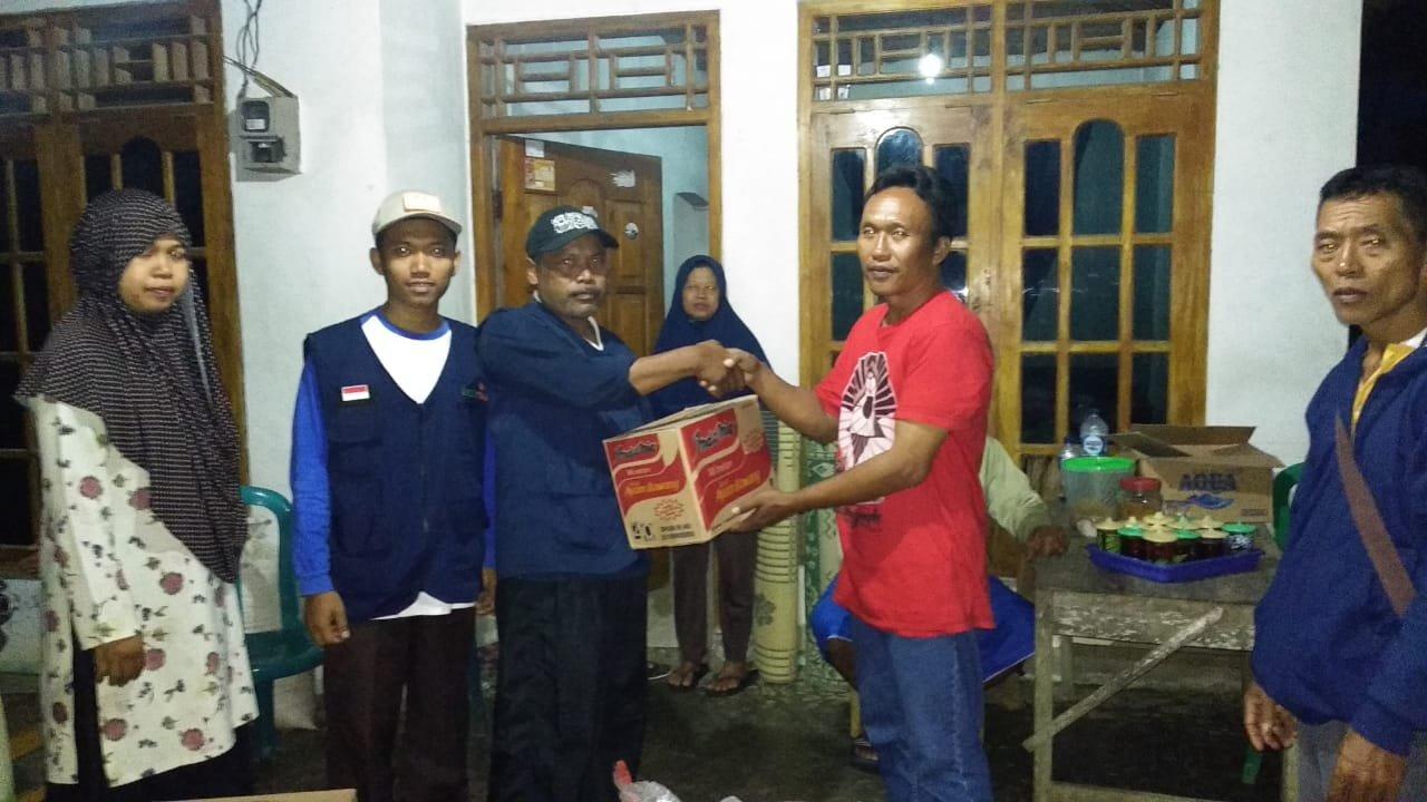 MDMC Gunungkidul memberikan bantuan Korban Bencana did Nglipar