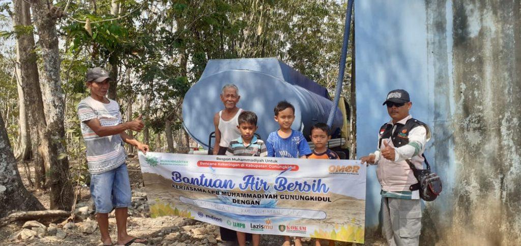 Bantuan Air Bersih Pimpinan Daerah Muhamamdiyah Gunungkidul 2019