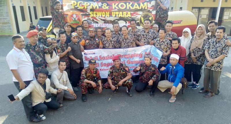 PCPM & KOKAM Sewon Utara Bantul Bakti Sosial Air Bersih di Gunungkidul