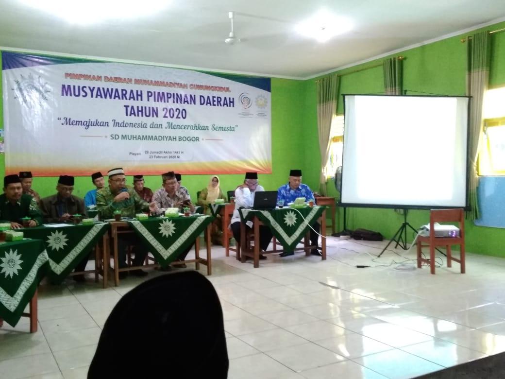 Musyawarah Pimpinan Daerah Muhammadiyah Gunungkidul 2020