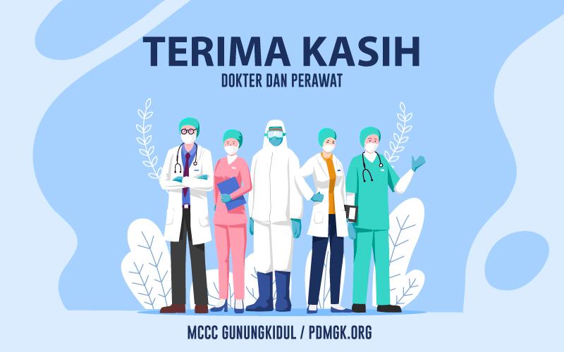 Terima Kasih Dokter dan Perawat MCCC Gunungkidul