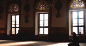 photo of praying indoors